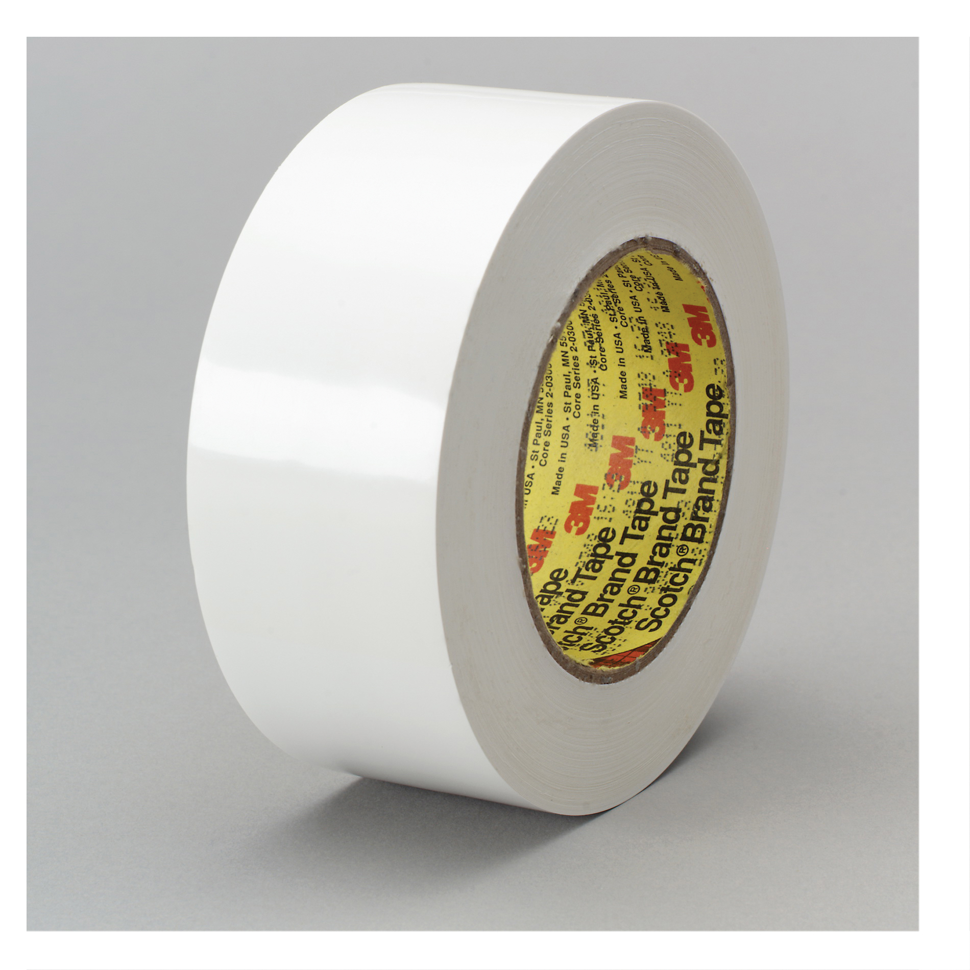 3M™ 021200-42425 Preservation Sealing Tape, 36 yd L x 1 in W, 9.5 mil THK, Rubber Adhesive, Polyethylene Backing, White