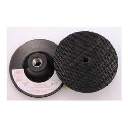 3M™ 048011-05677 Firm Density Regular Disc Pad Holder, 4 in Dia, Hook and Loop