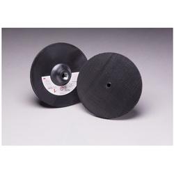 3M™ 048011-05682 Firm Density Regular Disc Pad Holder, 6 in Dia, Hook and Loop
