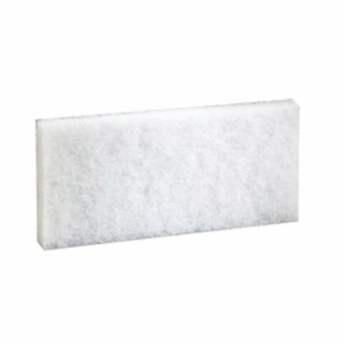 Doodlebug™ 048011-08003 Cleaning Pad, 10 in L x 4.6 in W x 1/2 in THK, White
