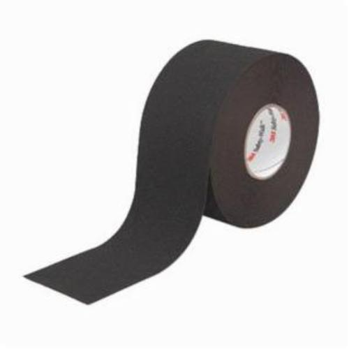 3M™ Safety-Walk™ 048011-19223 General Purpose Heavy Duty Slip-Resistant Tape, 60 ft/Roll L x 4 in W x 0.036 in THK, Plastic Film Substrate, Solid Surface Pattern, Smooth Surface