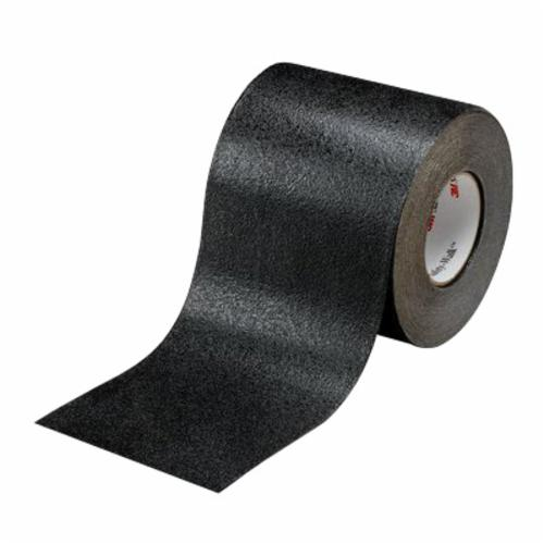 Safety-Walk™ 048011-19284 Conformable Heavy Duty Slip-Resistant Tape, 60 ft/Roll L x 18 in W x 0.036 in THK, Aluminum Foil Substrate, Solid Surface Pattern, Contoured/Irregular Surface