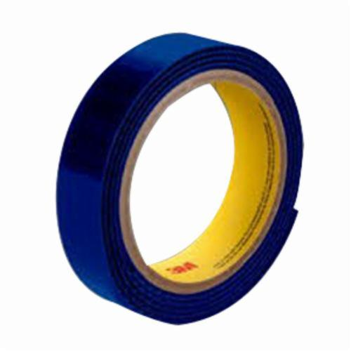 3M™ Scotchmate™ 021200-46077 Non-Adhesive Reclosable Hook Fastener Tape, 50 yd L x 4 in W, 0.15 in THK Engaged, Woven Nylon Backing, Royal Blue