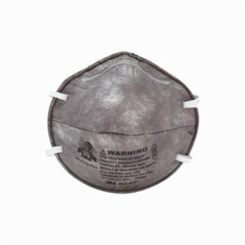 3M™ TEKK Protection™ 051111-08656 Disposable Non-Valved Paint Odor Respirator, Standard, Resists: Solid and Liquid Particles