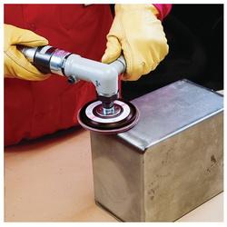 3M™ 051111-49617 747D Close Quick-Change Close Coated Flap Disc, 4-1/2 in Dia Disc, 7/8 in Center Hole, P120 Grit, Fine Grade, Ceramic Abrasive, Type 27 Disc