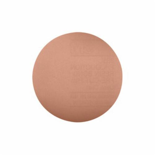 3M™ 051111-53862 Coated Abrasive Plain Back Disc, 5 in Dia, 5 micron Grit, Silicon Carbide Abrasive, Polyester Film Backing
