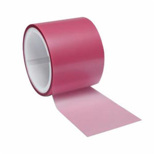 3M™ 051111-49955 Lapping Film Roll, 4 in W x 50 ft L, 3 u Grit, Super Fine Grade, Diamond Coated Abrasive, Pink