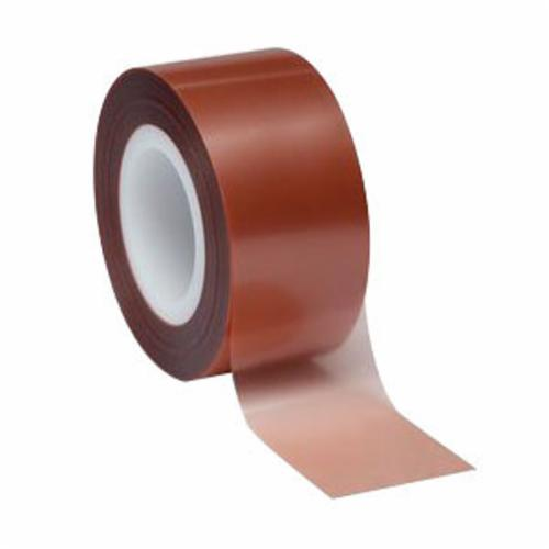 3M™ 051111-49957 Lapping Film Roll, 4 in W x 50 ft L, 6 u Grit, Super Fine Grade, Diamond Coated Abrasive, Brown