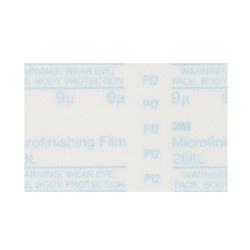 3M™ 051111-49993 268L Type D Microfinishing PSA Carbide Burr Set, 12 in Dia Disc, 15 micron Grit, Super Fine Grade, Aluminum Oxide Abrasive, Polyester Film Backing