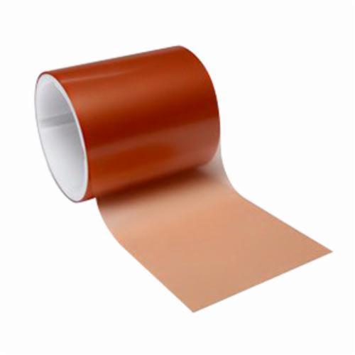 3M™ 051111-50062 Lapping Film Roll, 4 in W x 50 ft L, 15 u Grit, Coarse Grade, Diamond Coated Abrasive, Orange