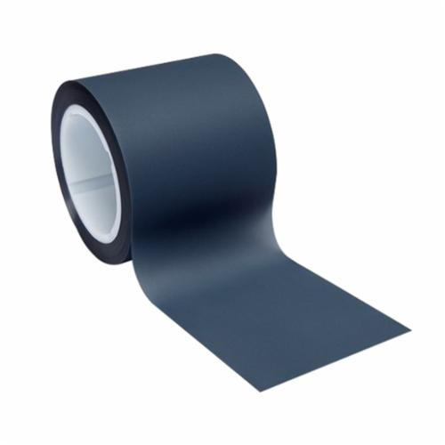 3M™ 051111-50090 Plain Back Lapping Film Roll, 4 in W x 150 ft L, 15 u Grit, Coarse Grade, Silicon Carbide Abrasive, Gray