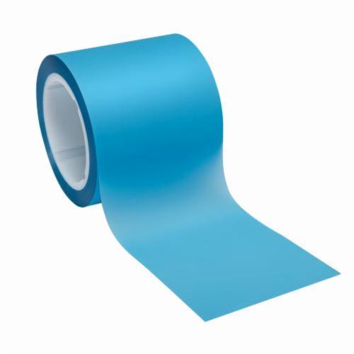 3M™ 051111-50098 Plain Back Lapping Film Roll, 1 in W x 600 ft L, 40 u Grit, Fine Grade, Aluminum Oxide Abrasive, Blue