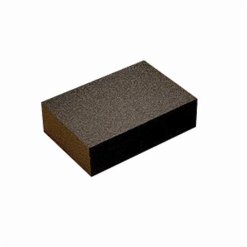 3M™ 051111-51065 Sanding Sponge, 4-3/4 in L x 3-3/4 in W x 1/2 in THK, Medium Grade