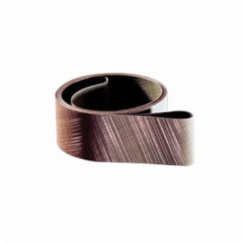 Trizact™ 051111-51202 Fullflex Narrow Coated Abrasive Belt, 2 in W x 132 in L, A16 Grit, Ultra Fine Grade, Aluminum Oxide Abrasive, Rayon Backing