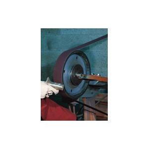 3M™ 051144-26309 Narrow Coated Abrasive Belt, 2 in W x 72 in L, P180 Grit, Very Fine Grade, Aluminum Oxide Abrasive, Cloth Backing