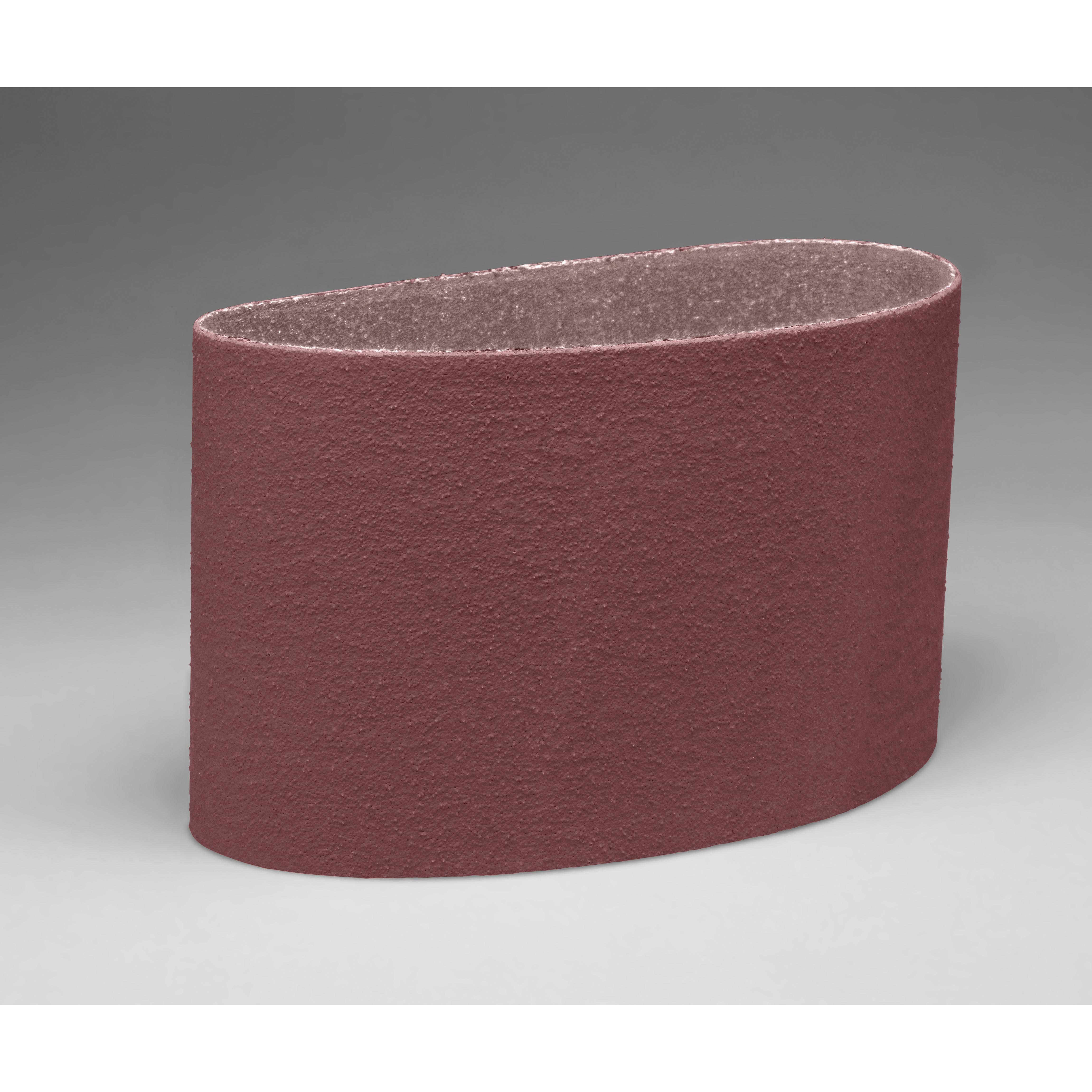 3M™ 051111-66965 341D Narrow Abrasive Belt, 8 in W x 94-1/2 in L, 60 Grit, Medium Grade, Aluminum Oxide Abrasive, Cloth Backing