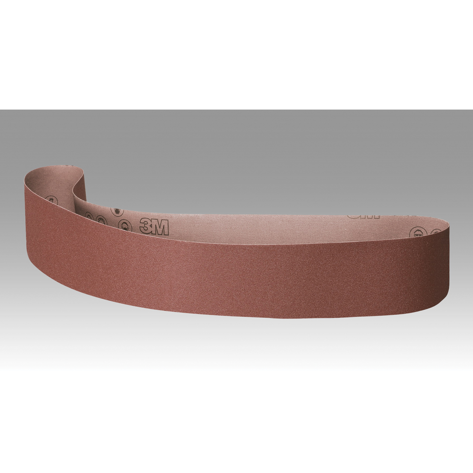 3M™ 051144-77489 361F Narrow Abrasive Belt, 4 in W x 36 in L, 80 Grit, Medium Grade, Aluminum Oxide Abrasive, Polyester Backing