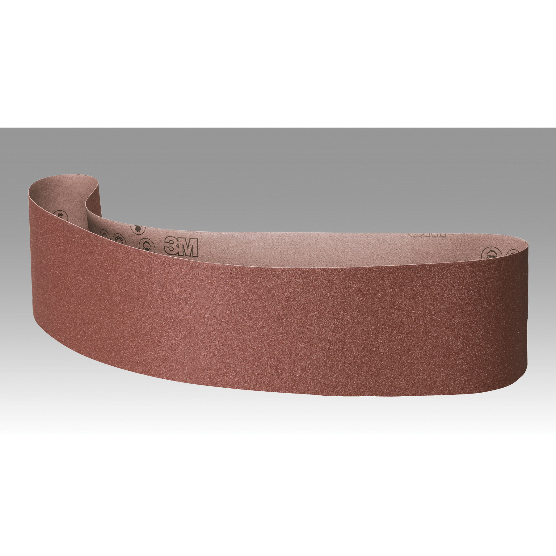 3M™ 051144-76398 Narrow Coated Abrasive Belt, 6 in W x 60 in L, 60 Grit, Medium Grade, Aluminum Oxide Abrasive, Polyester Backing
