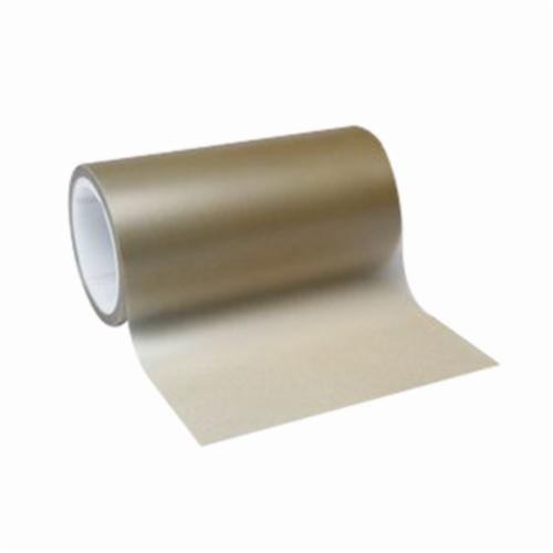 3M™ 051111-49974 Lapping Film Roll, 4 in W x 50 ft L, 45 u Grit, Very Fine Grade, Diamond Coated Abrasive, Amber