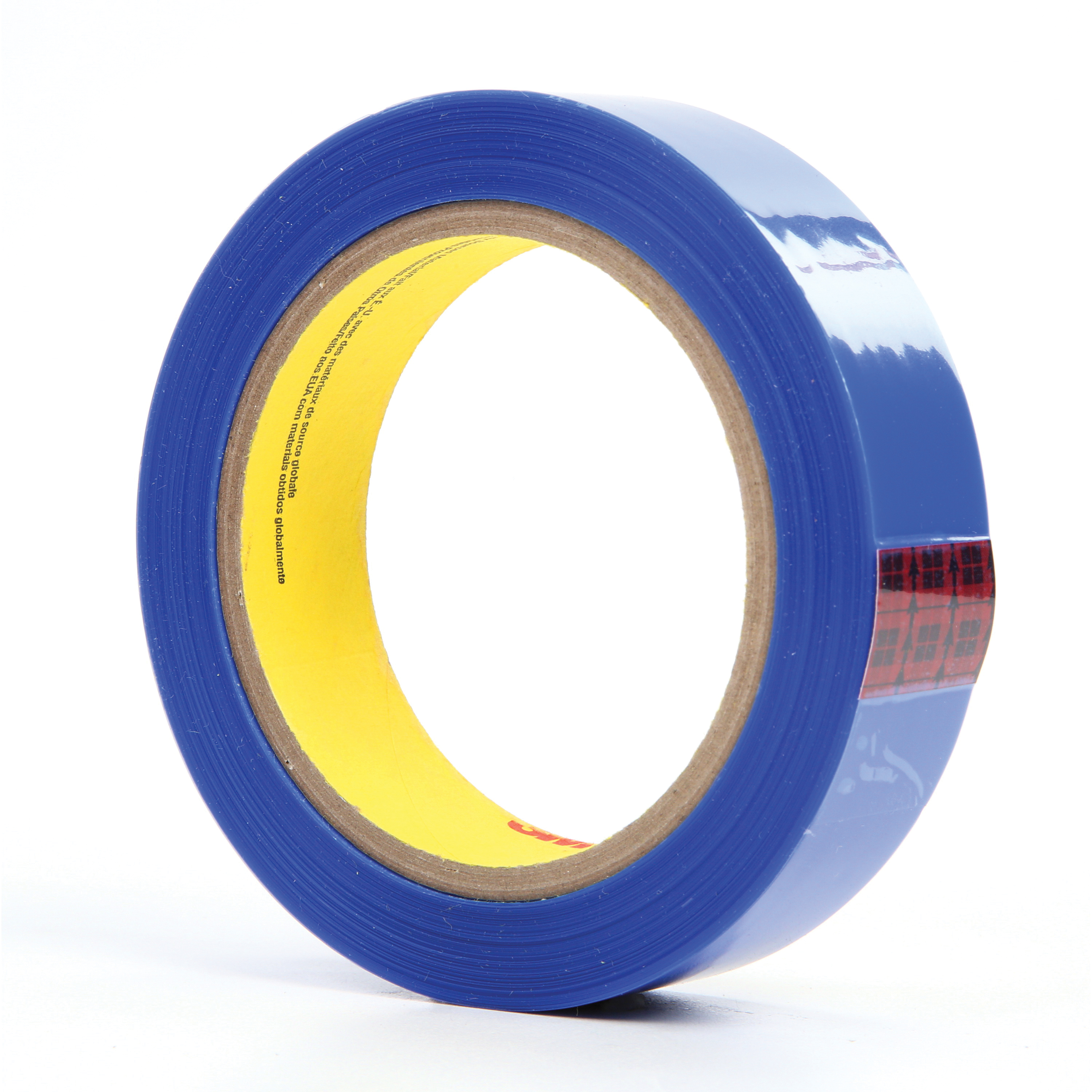 3M™ 051111-92767 High Strength Masking Tape, 72 yd L x 1 in W, 2.4 mil THK, Silicon Adhesive, Polyester Backing