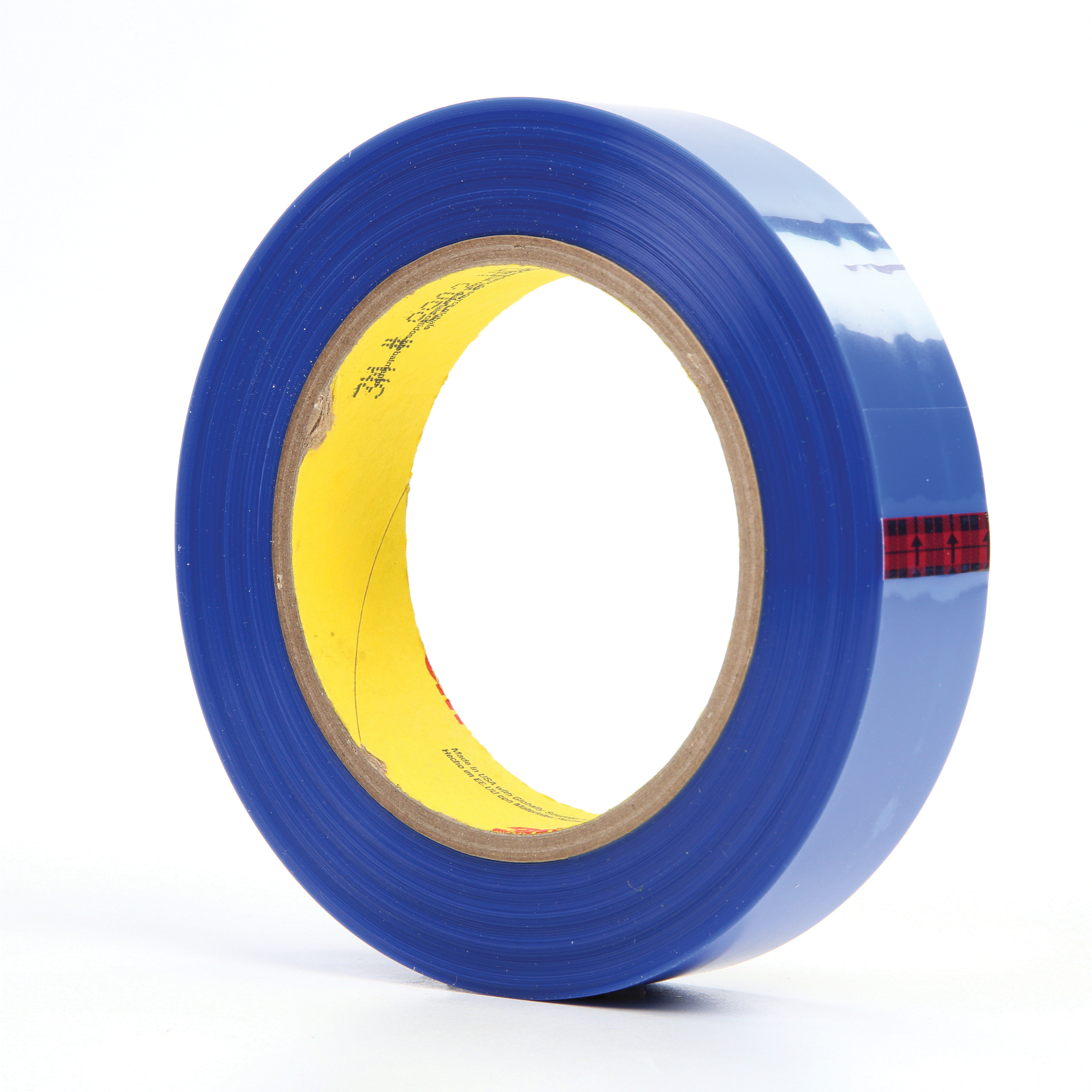 3M™ 051111-92777 General Purpose Masking Tape, 72 yd L x 1 in W, 3.5 mil THK, Silicon Adhesive, Polyester Backing