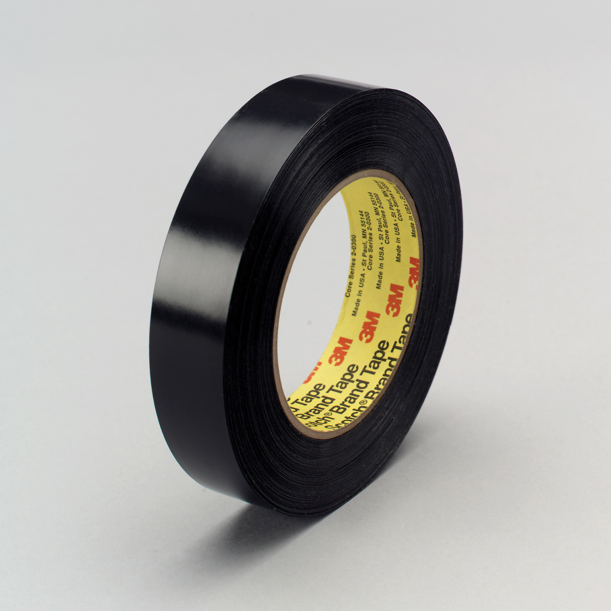 3M™ 021200-03174 Preservation Sealing Tape, 36 yd L x 1 in W, 9.5 mil THK, Rubber Adhesive, Polyethylene Backing, Black