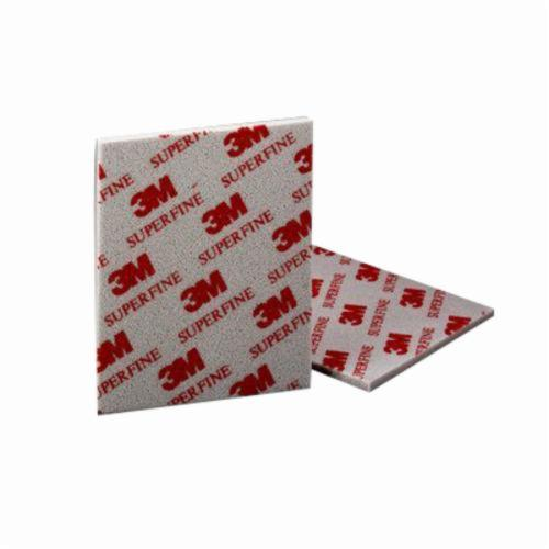 3M™ 051115-06964 Contour Surface Sanding Sponge, 5-1/2 in L x 4-1/2 in W x 3/16 in THK, 220 Grit, Super Fine Grade