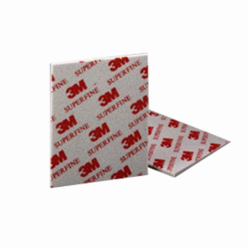 3M™ 051115-06966 Contour Surface Sanding Sponge, 5-1/2 in L x 4-1/2 in W x 3/16 in THK, P60 Grit, Medium Grade