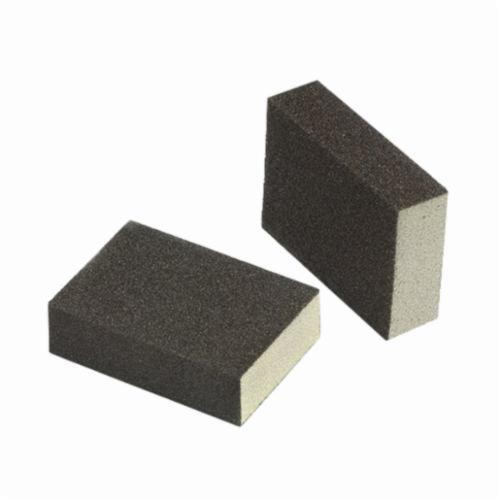 3M™ 051115-06967 Full Size Sanding Sponge, 3-3/4 in L x 2-5/8 in W x 1 in THK, Medium Grade