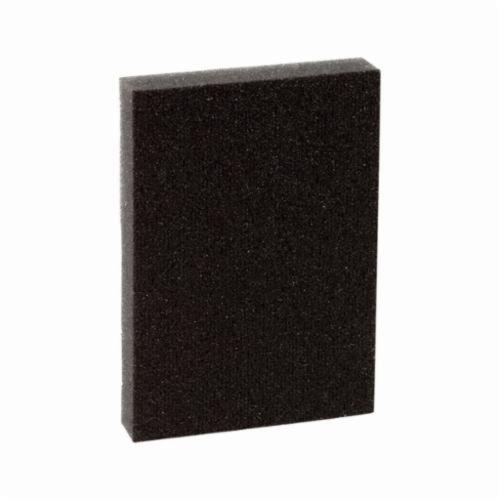 3M™ 051115-07057 Pro-Pad™ Sanding Pad, 4 in L x 2-7/8 in W x 1/2 in THK, 60 Grit