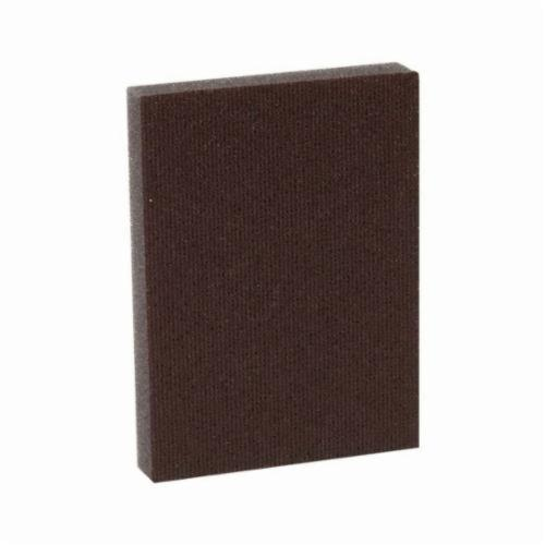 3M™ 051115-07058 Pro-Pad™ Sanding Pad, 4 in L x 2-7/8 in W x 1/2 in THK, 80 Grit, Medium Grade