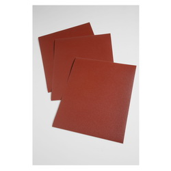 3M™ 051115-19766 Utility Coated Abrasive Sheet, 11 in L x 9 in W, P240 Grit, Very Fine Grade, Aluminum Oxide Abrasive, Cloth Backing
