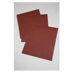 3M™ 051115-19773 Utility Coated Abrasive Sheet, 11 in L x 9 in W, P60 Grit, Medium Grade, Aluminum Oxide Abrasive, Cloth Backing