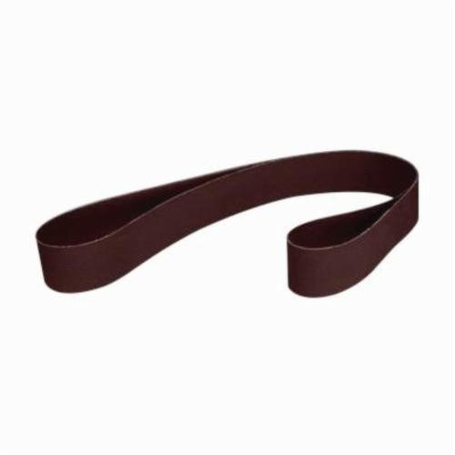 3M™ 051144-72227 File Coated Abrasive Belt, 1/2 in W x 18 in L, 60 Grit, Medium Grade, Aluminum Oxide Abrasive, Rayon Backing