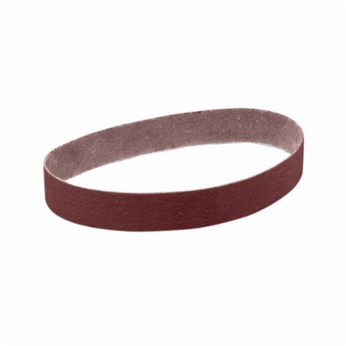 3M™ 051144-26426 Narrow Coated Abrasive Belt, 2 in W x 60 in L, 36 Grit, Very Coarse Grade, Aluminum Oxide Abrasive, Cloth Backing