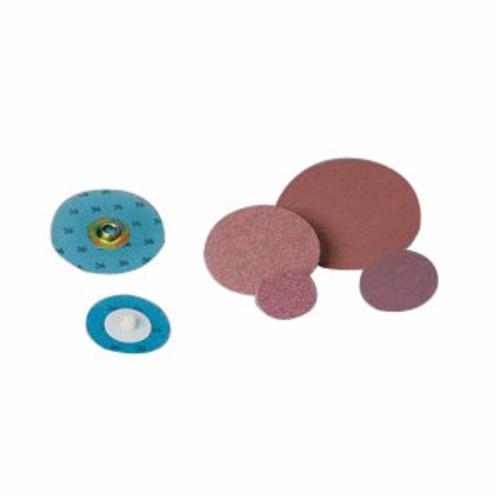 3M™ Standard Abrasives™ SocAtt® 051115-32408 522402 Quick-Change Coated Abrasive Disc, 2 in Dia Disc, 36 Grit, Extra Coarse Grade, Aluminum Oxide Abrasive, Type TS Attachment