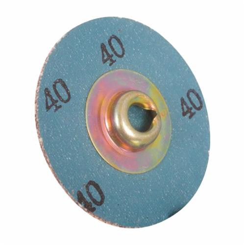 3M™ Standard Abrasives™ SocAtt® 051115-32412 522406 Quick-Change Coated Abrasive Disc, 2 in Dia Disc, 80 Grit, Medium Grade, Aluminum Oxide Abrasive, Type TS Attachment
