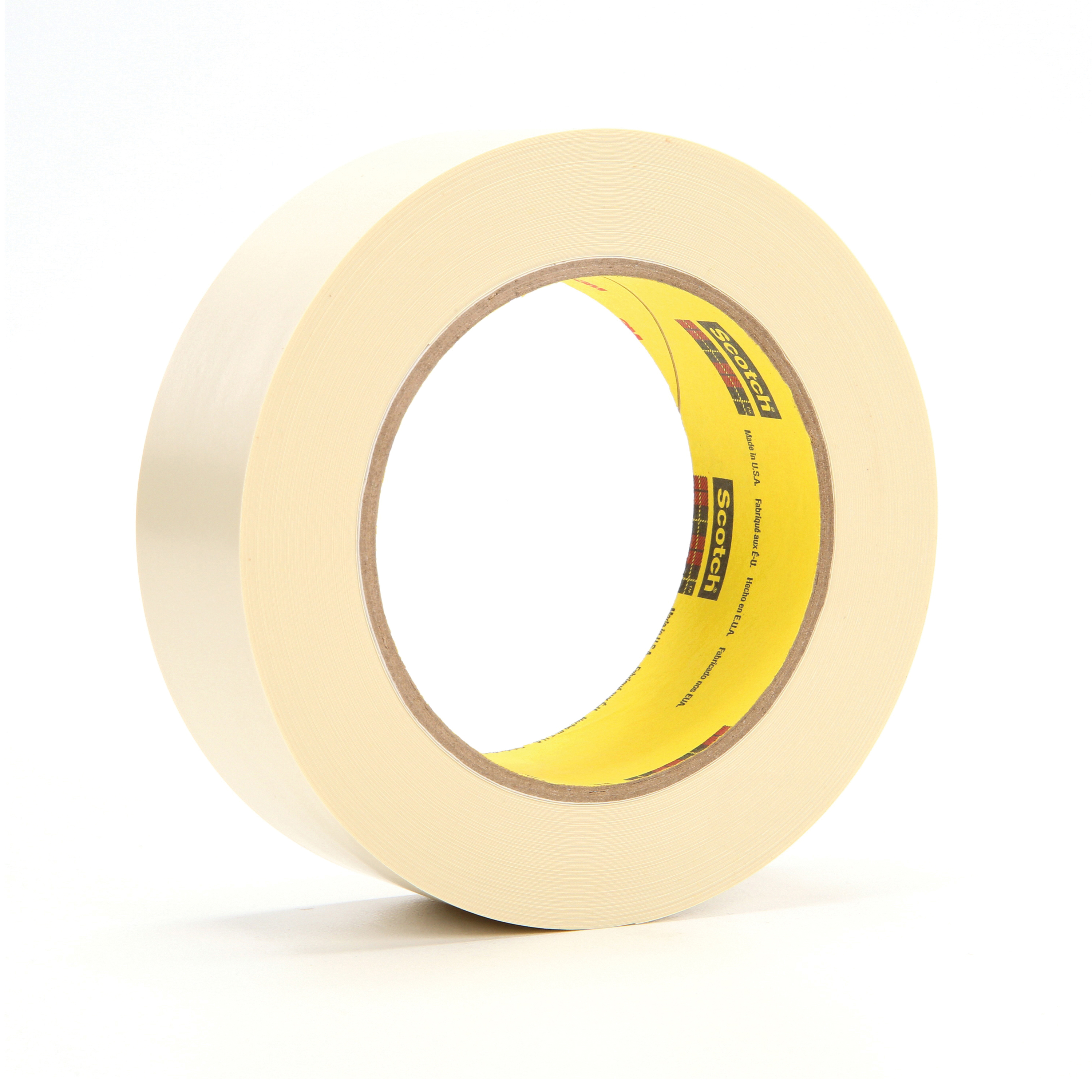 3M™ 021200-86147 Electroplating Tape, 36 yd L x 1-1/2 in W, 7.1 mil THK, Rubber Adhesive, Vinyl Backing