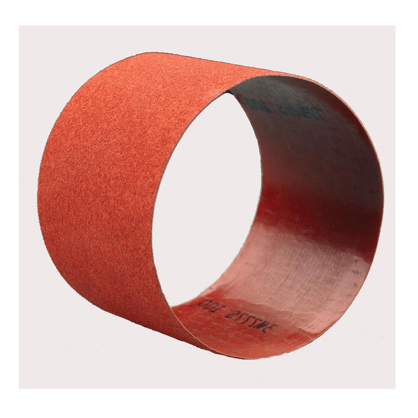 3M™ 051144-85821 L-Flex Portable Coated Abrasive Belt, 3 in W x 10-11/16 in L, P120 Grit, Fine Grade, Ceramic Aluminum Oxide Abrasive, Polyester Backing
