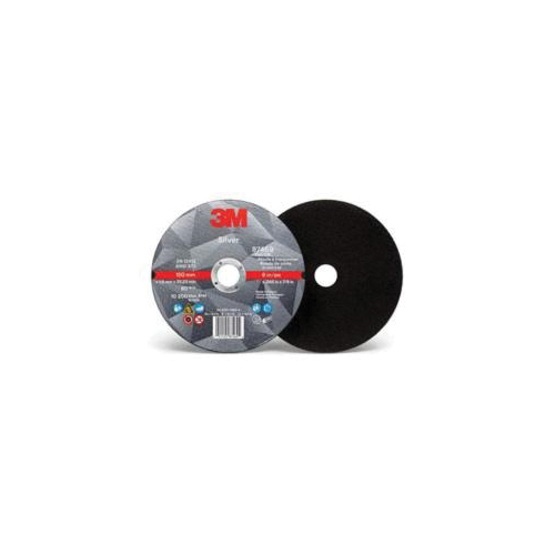 3M™ 051125-87469 Straight Cut-Off Wheel, 6 in Dia x 0.045 in THK, 7/8 in Center Hole, Ceramic Abrasive