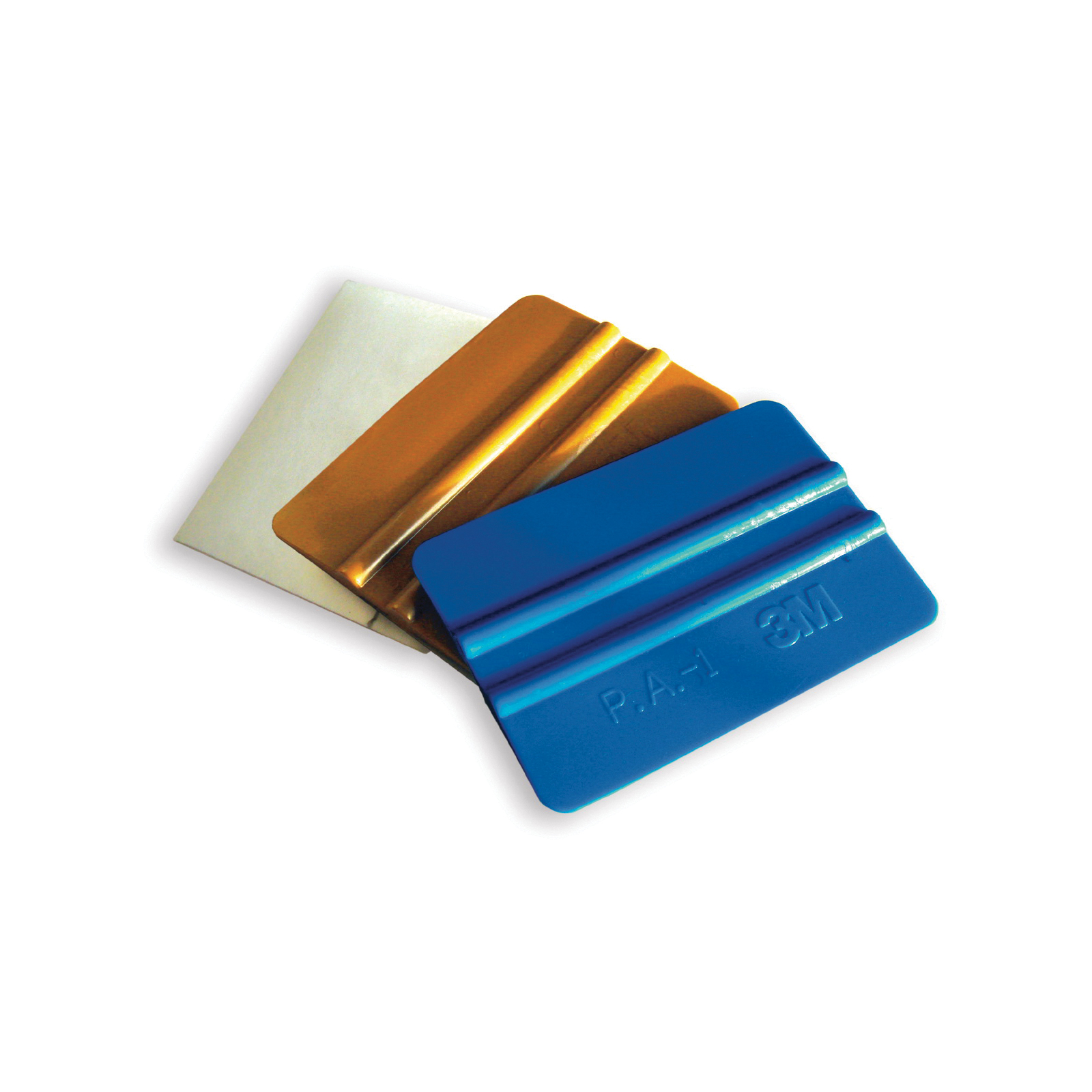 3M™ 051128-09206 PA1Blue Hand Applicator Squeegee, 4 in L x 2-3/4 in W