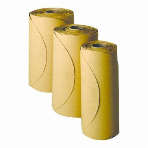 Stikit™ 051131-01325 PSA Coated Abrasive Disc Roll, 6 in Dia, P320 Grit, Aluminum Oxide Abrasive, Film Backing