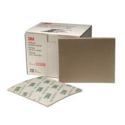 3M™ 051131-02600 Softback Sanding Sponge, 5-1/2 in L x 4-1/2 in W x 3/16 in THK, 1200/1500 Grit, Micro Fine Grade