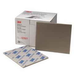 3M™ 051131-02601 Softback Sanding Sponge, 5-1/2 in L x 4-1/2 in W x 3/16 in THK, 600/800 Grit, Ultra Fine Grade