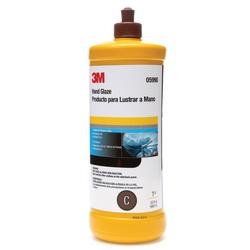 3M™ 051131-05990 Non-Wax Hand Glaze, 1 qt, Brown
