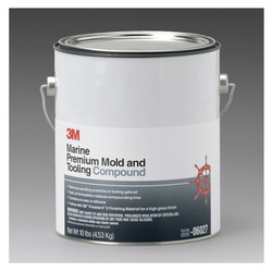3M™ 051131-06027 Premium Mold and Tooling Compound, 1 gal, Solvent Odor/Scent, Red, Paste Form