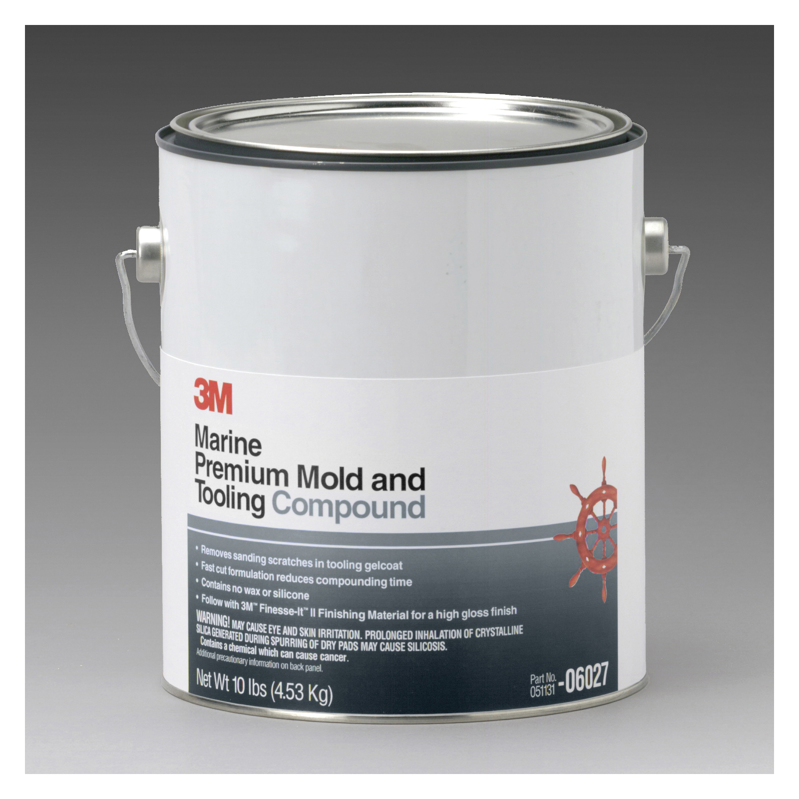 3M™ 051131-06027 Premium Mold and Tooling Compound, 1 gal, Paste, Red, Solvent
