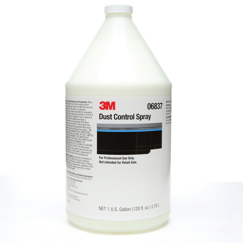 3M™ 051131-06837 Dust Control Spray, 1 gal, Slight Odor/Scent, White, Liquid Form