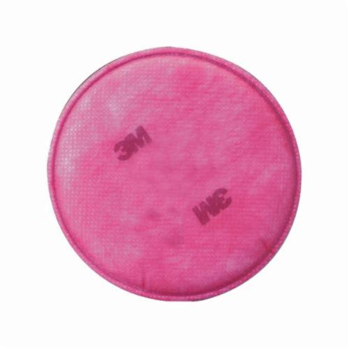 3M™ 051131-07000 2091 Particulate Filter, For Use With 6000, 7000, 7800 and FF-400 Series Respirators, P100 Filter Class, 0.999 Filter Efficiency, Bayonet Connection, Resists: Flame, Water, Oil and Non-Oil Based Particles