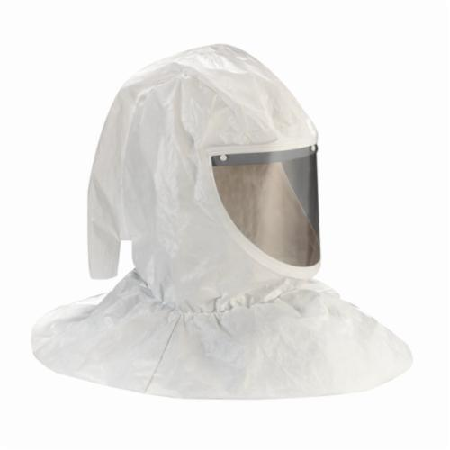3M™ 051131-07044 H Series Hood Assembly With Collar and Hard Hat, Standard, Tychem®, Specifications Met: ANSI Z89.1-2003 Type I Class E, NIOSH Approved